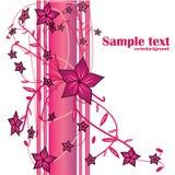 Vetor floral abstrato Imagens de Stock