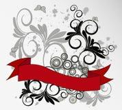 Vetor floral do fundo Imagens de Stock