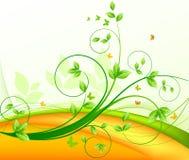 Vetor floral do fundo Imagem de Stock