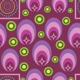 Vetor geométrico multi-dado forma bonito sem emenda ilustração royalty free