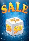Vetor grande da venda Foto de Stock Royalty Free