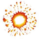 Vetor-Ilustração da explosão Fotos de Stock Royalty Free