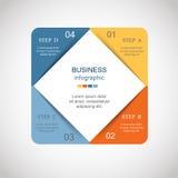 Vetor infographic ilustração royalty free