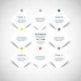 Vetor infographic Fotografia de Stock Royalty Free