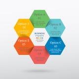 Vetor infographic Fotografia de Stock