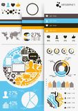Vetor Infographics Imagens de Stock Royalty Free