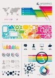 Vetor Infographics Foto de Stock