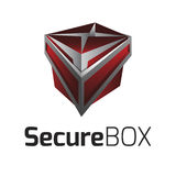 Vetor Logo Secure Box ilustração stock