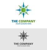 Vetor Logo Template da tecnologia da estrela Imagem de Stock Royalty Free