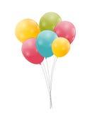 Vetor lustroso do fundo dos balões da cor Imagem de Stock