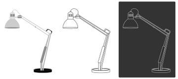 Vetor - luz da tabela Foto de Stock
