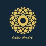 Vetor Mandala Symbol geométrica Fotos de Stock Royalty Free