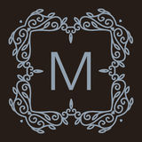 Vetor monocromático do luxo, o simples e o elegante Imagem de Stock Royalty Free