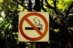 Vetor não fumadores Fotografia de Stock