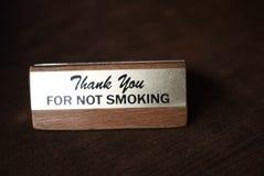 Vetor não fumadores Foto de Stock Royalty Free