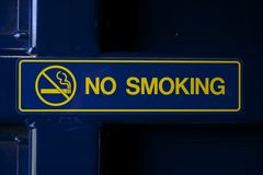 Vetor não fumadores Fotografia de Stock Royalty Free