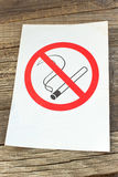 Vetor não fumadores Imagem de Stock
