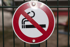 Vetor não fumadores Imagem de Stock Royalty Free