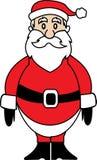 Vetor Papai Noel Foto de Stock Royalty Free