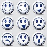 Grupo do smiley Fotos de Stock Royalty Free
