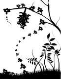 Vetor preto e branco   ilustração stock