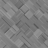 Vetor preto e branco do teste padrão Fotografia de Stock Royalty Free