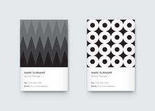 Vetor Propaedeutics mínimo Vert na moda gráfico preto e branco Fotos de Stock Royalty Free
