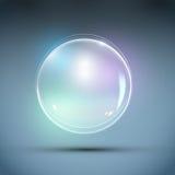 Vetor realístico da bolha Foto de Stock Royalty Free