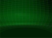 Vetor redondo 02 da estrutura da parede do verde abstrato da rede de fio ilustração royalty free