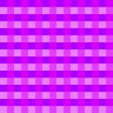 Vetor roxo da toalha de mesa Vetor tradicional do teste padrão da toalha de mesa Teste padrão roxo do quadrado da cor Fotos de Stock