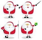 Vetor Santa Imagem de Stock