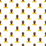Vetor sem emenda do teste padrão do homem do hip-hop ilustração royalty free