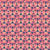Vetor sem emenda geométrico do fundo do teste padrão Papel de parede da decoração e da geometria imagem de stock