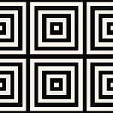 Vetor sem emenda geométrico do teste padrão Foto de Stock Royalty Free
