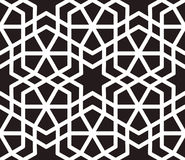 Vetor sem emenda inspirado islâmico do teste padrão Imagens de Stock