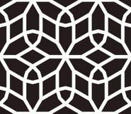Vetor sem emenda inspirado islâmico do teste padrão Foto de Stock Royalty Free