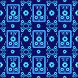 Vetor sem emenda oito do teste padrão do estilo oriental Imagens de Stock Royalty Free
