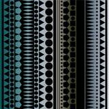 Vetor sem emenda, textura geométrica ilustração stock