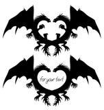 Vetor Sinais do dragão ilustração do vetor