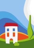 Vetor town#2 ilustração royalty free