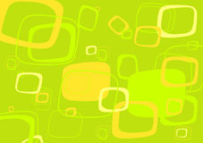 Vetor verde, amarelo do retângulo Foto de Stock Royalty Free