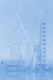 Vetreria per laboratorio Fotografia Stock