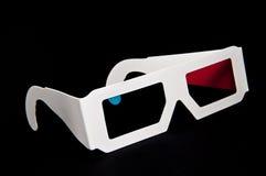 vetri 3D Fotografia Stock Libera da Diritti