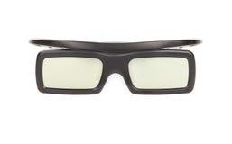 vetri 3D isolati su priorità bassa bianca Fotografie Stock