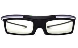 vetri attivi 3d sopra fondo bianco Immagini Stock