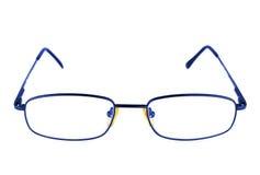 Vetri blu Immagine Stock