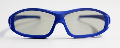 Vetri blu 3D Immagini Stock