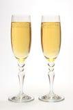 Vetri con champagne. Immagini Stock Libere da Diritti