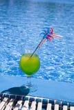 Vetri con il cocktail Fotografia Stock