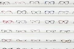 Vetri correttivi dell'occhio immagini stock